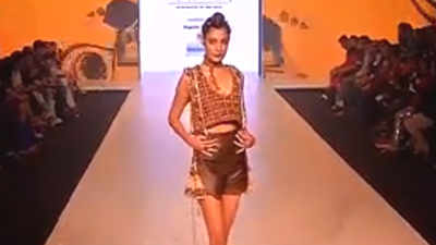 Design Students Of Amity University Steal The Show At Bombay Times Fashion Week Events Movie News Times Of India