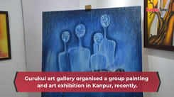 A painting and art exhibition organised in Kanpur