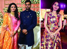 A glittering engagement for Vaswee and Rahul in Kanpur