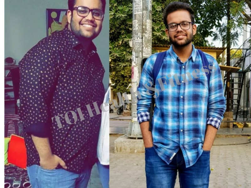 Weight loss: From 125 to 80 kilos, this student lost a massive 45 kilos