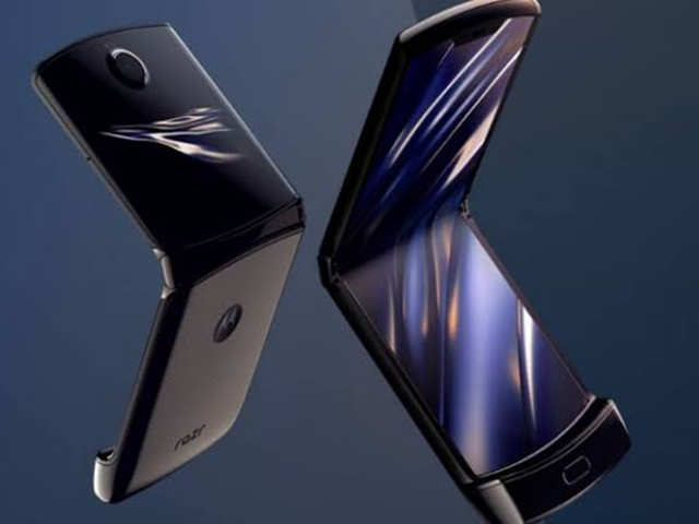 Motorola Razr with foldable display launched at Rs 1,24,999