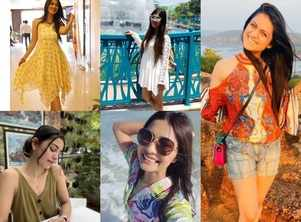 Top five Gujarati actresses from Khushi Shah to Aarohi Patel show us how to breeze through the heat in style