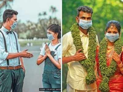 Kerala Wedding Photoshoot To Ward Off Covid 19 Kochi News