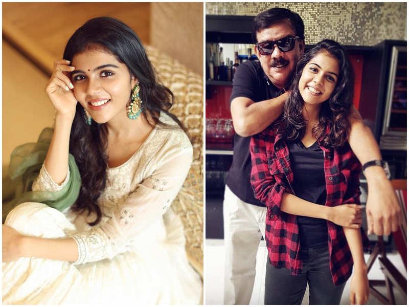 I finally got my hug: Kalyani Priyadarshan shares her father's reaction after watching 'Varane Avashyamund'