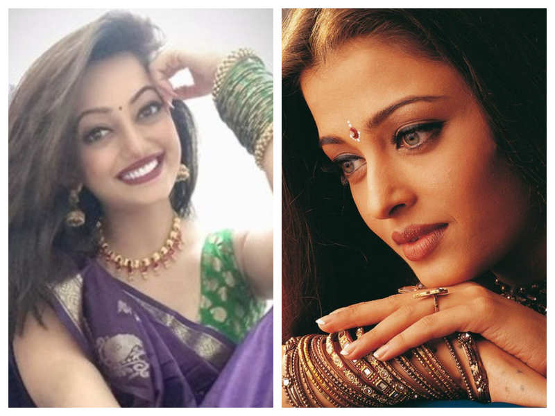 Watch: Aishwarya Rai Bachchan's doppelganger is turning heads with her uncanny resemblance with the actress