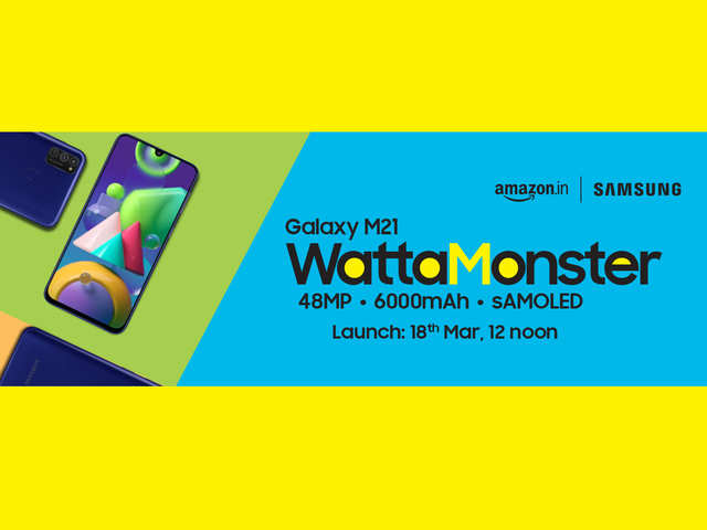 Samsung Galaxy M21 is here: 3 highlights of the phone that will make you go #WattaMonster