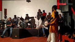 Isai kadambam artists performs together