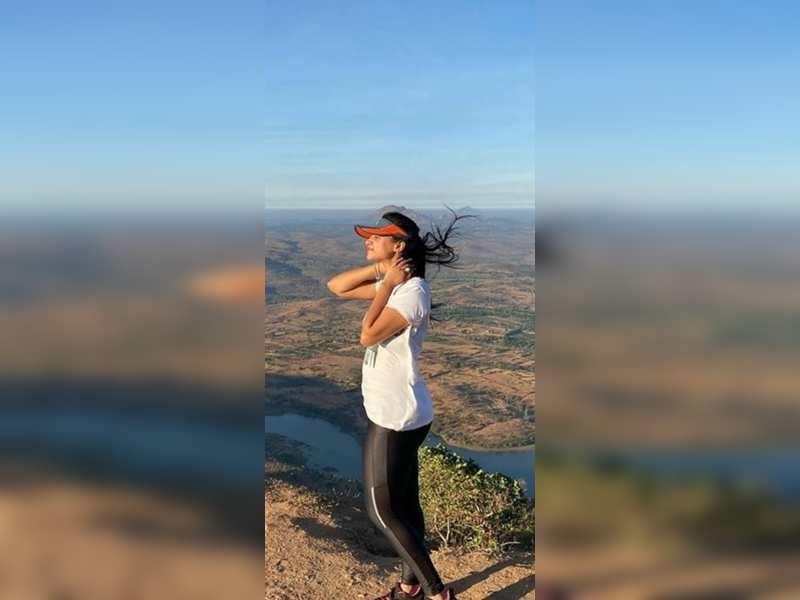Kavitha Gowda goes trekking