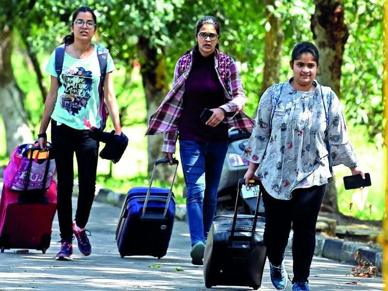 Outstation students and young professionals in Bengaluru left in the lurch