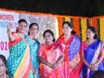 Roja Selvamani, Sabitha Indira Reddy, Dr Tamilisai Soundararajan, Satyavati Rathod and Sunitha Mahener Reddy