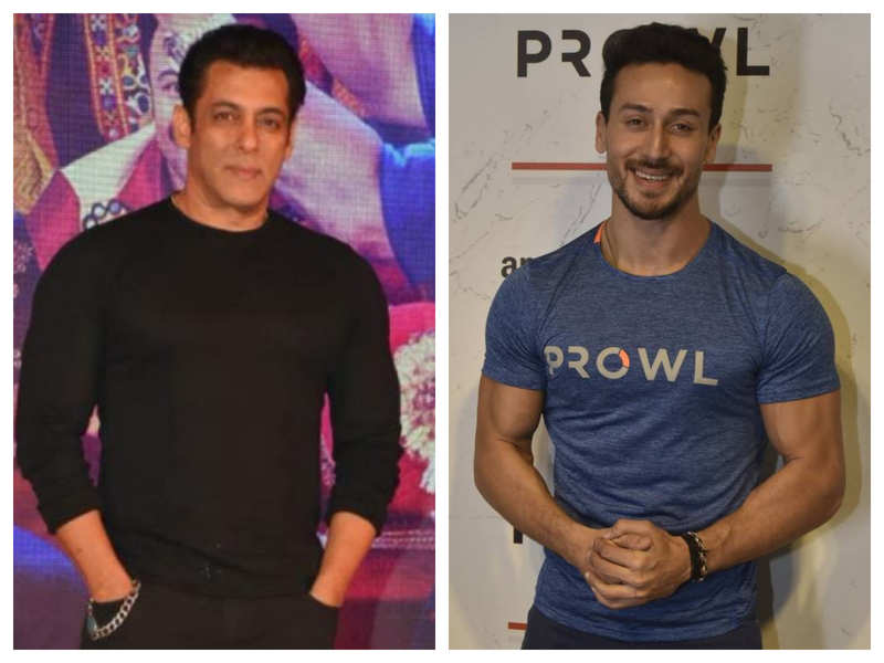 Tiger Shroff calls Salman Khan Bollywood's lion, says his bracelet would have more Instagram followers than him