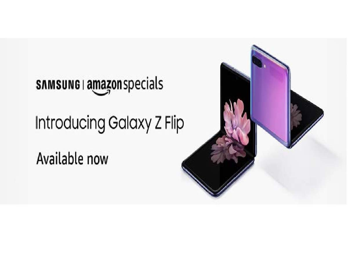 Samsung Galaxy Z Flip Available On Amazon Price In India And Specifications Most Searched Products Times Of India