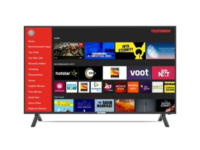 Telefunken announces new range of HD and FHD smart LED TVs starting at Rs 17,990
