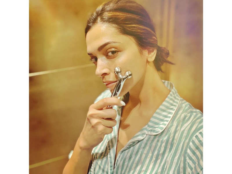 Everything you need to know about Deepika Padukone's BEAUTY SECRET, her face roller
