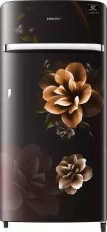 Samsung 198 L Direct Cool Single Door 4 Star (2020) Refrigerator(Camellia Black, RR21T2G2XCB