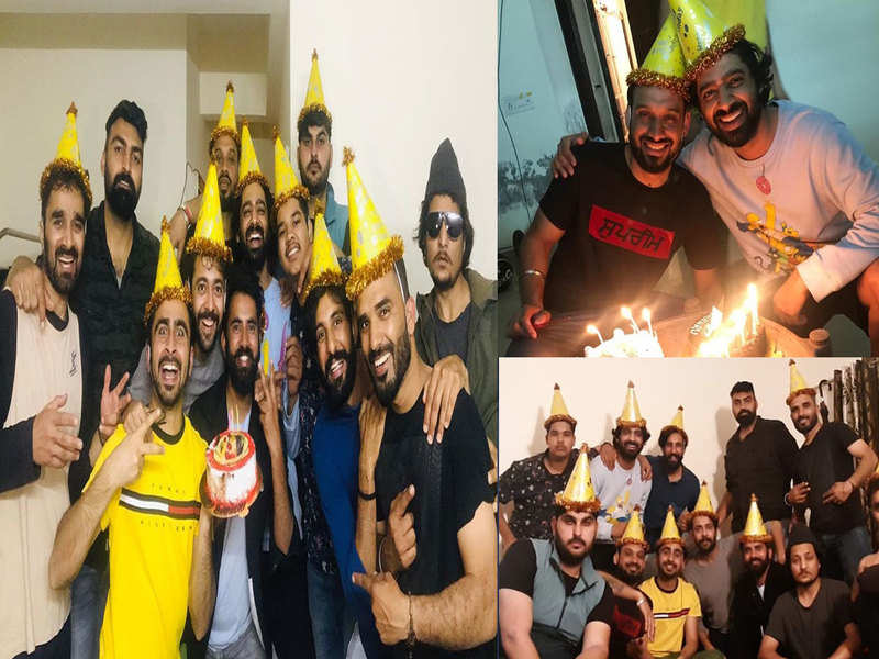 Dheeraj Kumar turns a year older and celebrates with his boys gang