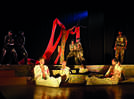 'Say no to war' was the message of this play staged in Lucknow