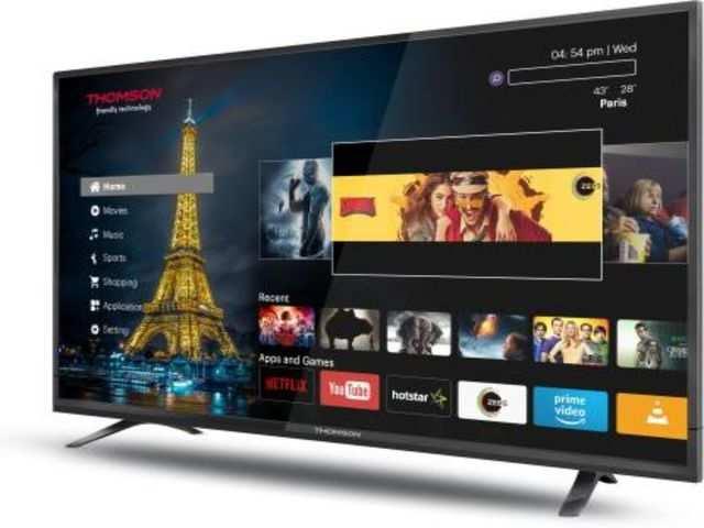 Flipkart Big Shopping Days: Thomson announces discounts on all TV models