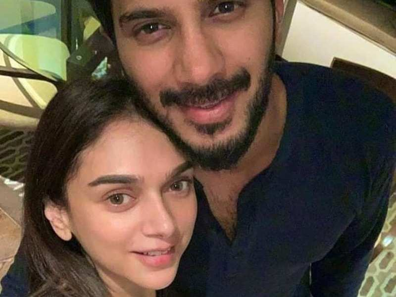 Check out Dulquer Salmaan's selfie with his Hey Sinamika co-star Aditi Rao Hydari
