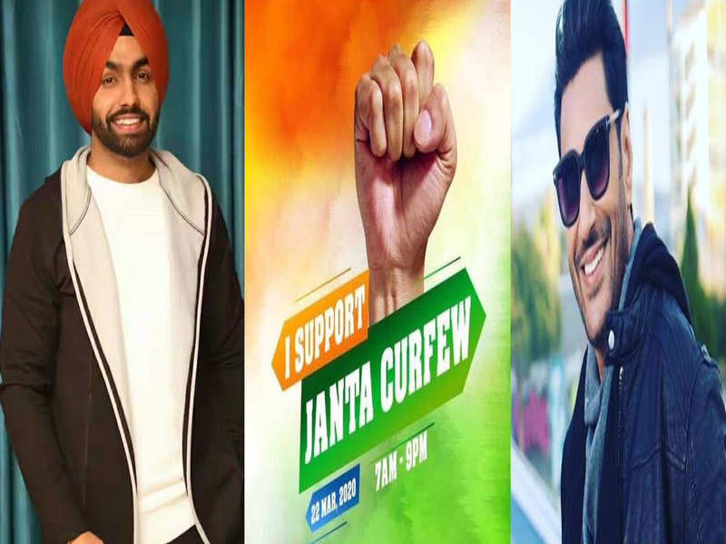 Ammy Virk, Harbhajan Mann and other Punjabi celebs root for #JantaCurfew