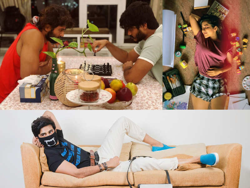 COVID-19: Here's how Tollywood stars are spending their time under self-quarantine