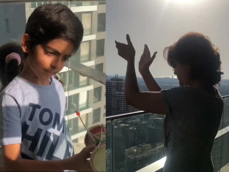 Tahira Kashyap cheers from her balcony on Saturday instead of Sunday, vows to repeat it today – watch video