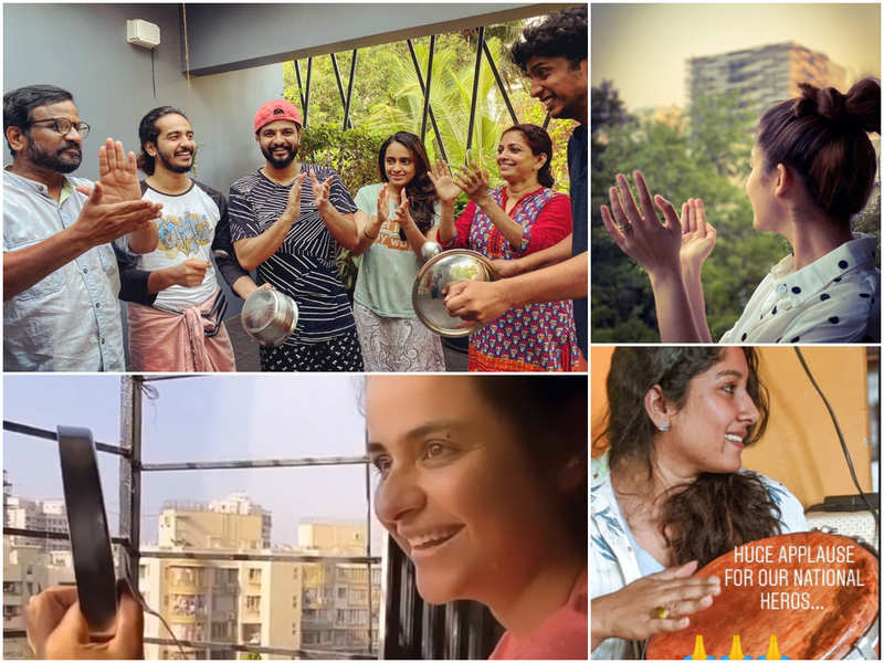 Claps of hope: Mollywood celebs cheer from their balconies extending their support during #JantaCurfew