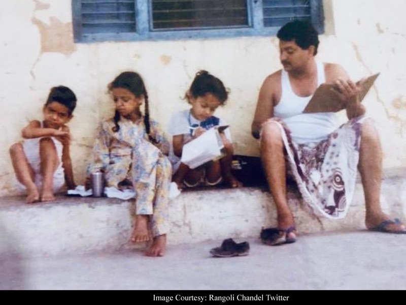 Rangoli Chandel wishes sister Kangana Ranaut aka 'Chotu' on her birthday with an adorable throwback from 90s