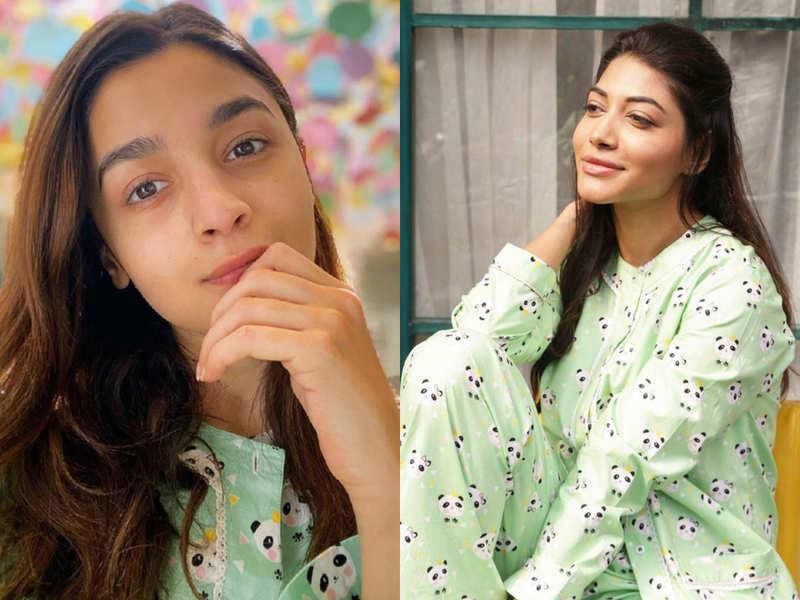 Alia Bhatt is spending quarantine time in a Panda pyjama set and it's adorable