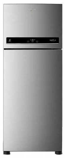 Whirlpool IntelliFresh 500 L Frost Free Double Door Refrigerator(5 In 1 Convertible Freezer, Inverter Compressor, Alpha Steel, 3 Star, 10 Years Warranty )