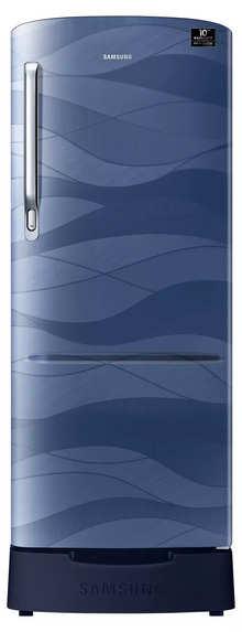 Samsung RR22T385XUV Single Door with Stylish Grandé Design 212L