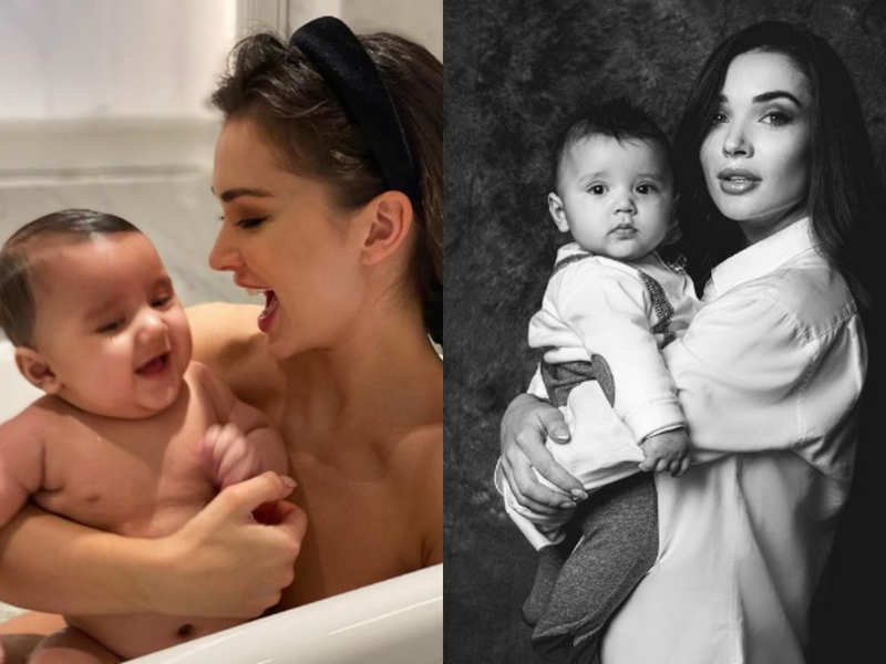 Amy Jackson gets emotional on mother's day!