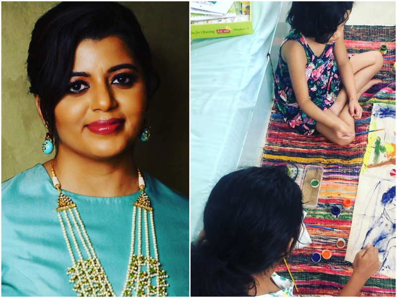 Supriya Menon reveals her struggle to keep her 5 year-old daughter Alankrita engaged during isolation