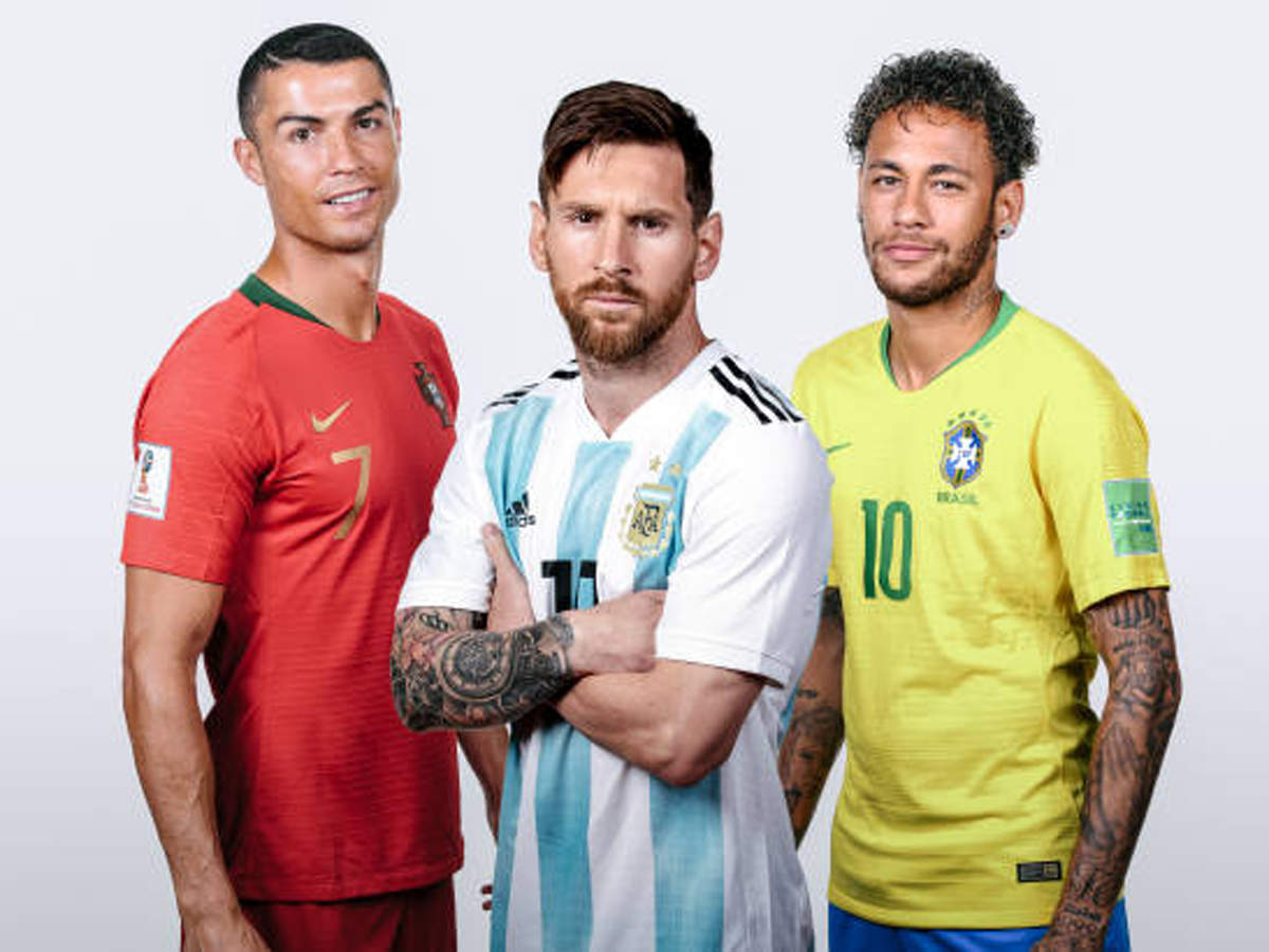 Messi, Ronaldo and Neymar the world's best-paid footballers, study claims |  Football News - Times of India