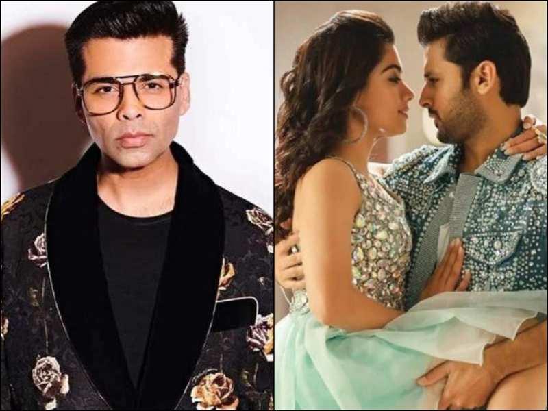 Is Karan Johar Planning To Acquire The Rights For Hindi Remake Of Rashmika Mandana And Nithiin Starrer Bheeshma Hindi Movie News Times Of India