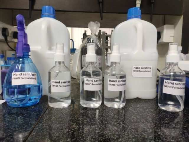 IIT-Kharagpur makes hand sanitisers amid coronavirus crisis