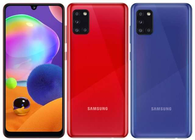 Samsung Galaxy A31 with quad cameras launched