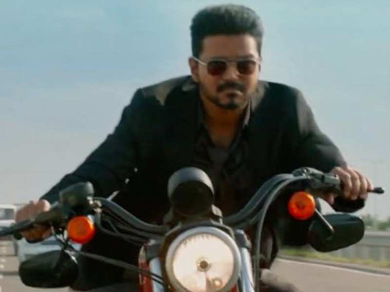 Vijay's original bike stunt video from the 'Bigil' shooting spot goes viral