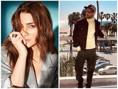 Kriti on rumours of her working with Hrithik