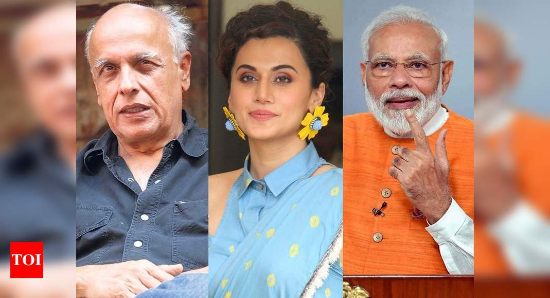 Mahesh Bhatt, Anushka Sharma, Taapsee Pannu and other Bollywood celebs applaud Prime Minister Narendra Mo thumbnail