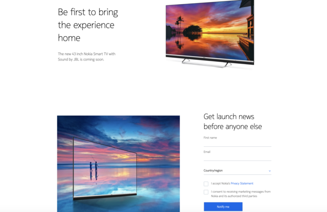Nokia to soon launch 43-inch smart TV in India