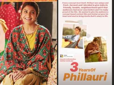 Anushka: I'm really proud of Phillauri