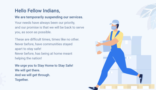 Coronavirus: Flipkart and Myntra have this message for their customers