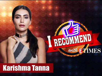 'I recommend' with Karishma Tanna; watch