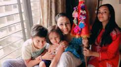 #Gudipadwa2020: Actress Gouri Tonnk makes garlands from newspapers to decorate the Gudi