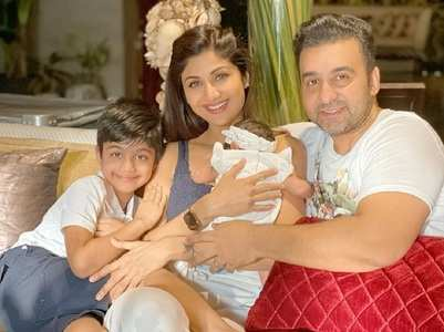 Shilpa Shetty shares family pic with newborn