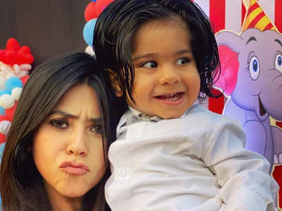 Ekta shares cute video of her dance with son