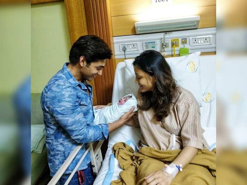 Actor Ruslaan Mumtaz shares pictures of his newborn