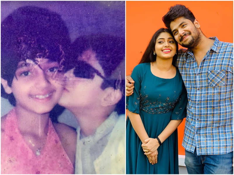 Throwback Thursday: Thatteem Mutteem actor Sidharth Prabhu shares a childhood picture with sister Bhagyalakshmi
