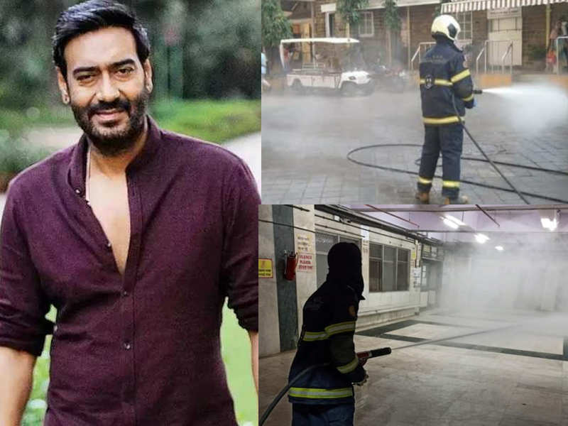 Ajay Devgn on lockdown: We must standby and help the administrators protect us
